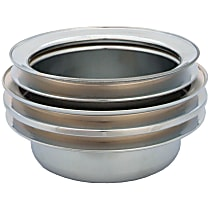 4495 Crankshaft Pulley - Chrome, Steel, Direct Fit, Sold individually
