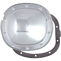 6074 Differential Cover - Chrome, Steel, Direct Fit, Sold individually