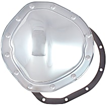 6076 Differential Cover - Chrome, Steel, Direct Fit, Sold individually