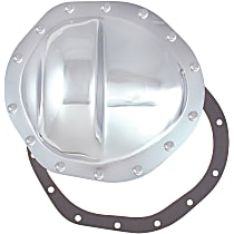 6080 Differential Cover - Chrome, Steel, Direct Fit, Sold individually
