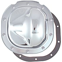 6083 Differential Cover - Chrome, Steel, Direct Fit, Sold individually
