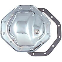 6089 Differential Cover - Chrome, Steel, Direct Fit, Sold individually