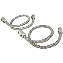 Spectre 7800 Heater Hose - Polished, Universal, Sold individually
