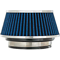 8166 Universal Air Filter - Blue, Cotton Gauze, Washable, Universal, Sold individually