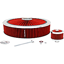 847622 Air Cleaner Assembly - Red, Synthetic, Universal, Assembly