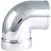 Spectre 8698 Intake Tube - Chrome, May Require Minor Modification, Sold individually