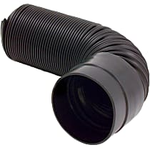 8741 Intake Tube - Black, May Require Minor Modification, Sold individually