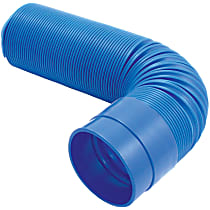 Intake Tube - Blue, May Require Minor Modification, Sold individually