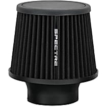 9131 Universal Air Filter - Black, Cotton Gauze, Washable, Universal, Sold individually