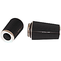9731 Universal Air Filter - Black, Cotton Gauze, Washable, Universal, Sold individually