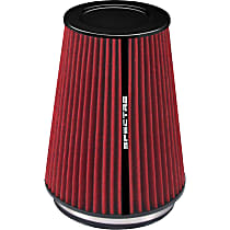 Spectre HPR9881 Universal Air Filter - Red, Cotton Gauze, Washable, Universal, Sold individually