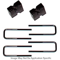BUK3572 Axle Block - Iron, Direct Fit, Set of 2