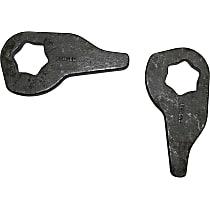 D201KE Leveling Kit - Steel, Direct Fit, Set of 2