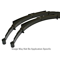 Front, Driver and Passenger Side Leaf Spring, Set of 2