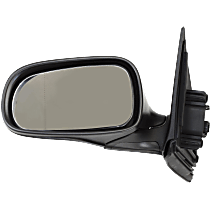 Mirror - Driver Side, Power, Heated, Power Folding, Paintable, For Sedan or Wagon