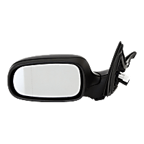 Mirror - Driver Side, Power, Heated, Paintable, With Memory, For Sedan or Wagon