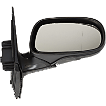 Mirror - Passenger Side, Power, Heated, Power Folding, Paintable, With Memory, For Sedan or Wagon