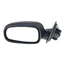 Mirror - Driver Side, Power, Heated, Folding, Paintable, For Sedan or Wagon