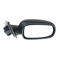 Mirror - Passenger Side, Power, Heated, Folding, Paintable, For Sedan or Wagon