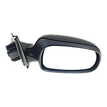 Mirror - Passenger Side, Power, Heated, Folding, Paintable, With Memory, For Sedan or Wagon