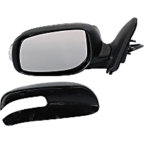 Mirror - Driver Side, Power, Paintable, With Turn Signal
