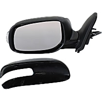 Mirror Non-Heated - Driver Side, Power Glass, In-housing Signal Light, Paintable