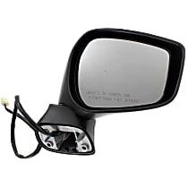 Mirror Non-Heated - Passenger Side, Textured Black