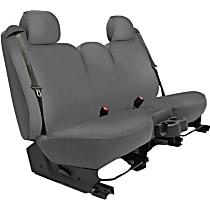 K020-1J-0GGY Seat Designs Genuine Neoprene Front Row Seat Cover - Gray, Custom Fit