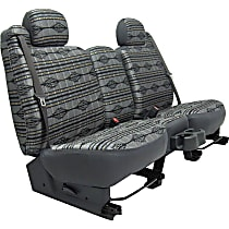 Seat Designs Southwest Sierra Front Row Seat Cover - Gray (Mfr. Color), Custom Fit