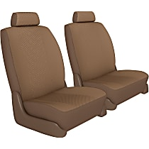Seat Designs Cool Mesh Front Row Seat Cover - Tan, Custom Fit