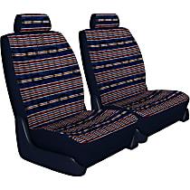 Seat Designs Southwest Sierra Front Row Seat Cover - Dark Blue (Mfr. Color), Custom Fit