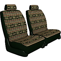 Seat Designs Southwest Sierra Front Row Seat Cover - Green (Mfr. Color), Custom Fit