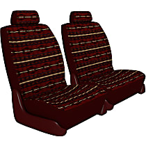 Seat Designs Southwest Sierra Front Row Seat Cover - Maroon (Mfr. Color), Custom Fit