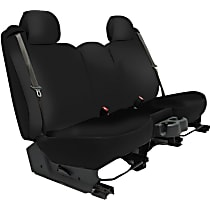 K020-2J-0GBK Seat Designs Genuine Neoprene Front Row Seat Cover - Black, Custom Fit