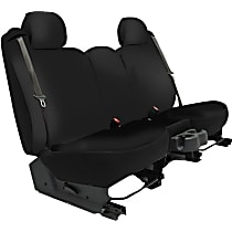 K020-2J-2GBK Seat Designs Genuine Neoprene Front Row Seat Cover - Black, Custom Fit