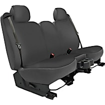 K020-2J-2GCH Seat Designs Genuine Neoprene Front Row Seat Cover - Charcoal (Mfr. Color), Custom Fit