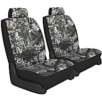 K020-4G-0ASW Seat Designs Camo Front Row Seat Cover - Snow (Mfr. Color), Custom Fit