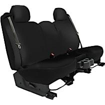 K020-4G-0GBK Seat Designs Genuine Neoprene Front Row Seat Cover - Black, Custom Fit