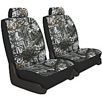 K020-5L-0ASW Seat Designs Camo Front Row Seat Cover - Snow (Mfr. Color), Custom Fit