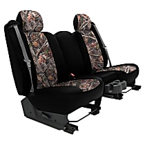 Seat Designs Camo Front Row Seat Cover - Hunter Insert With Black Sides (Mfr. Color), Custom Fit