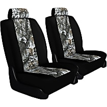 K020-5L-0KSW Seat Designs Camo Front Row Seat Cover - Snow Insert With Black Sides (Mfr. Color), Custom Fit