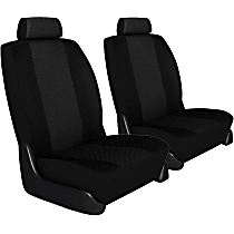 K020-5L-0OBK Seat Designs Cool Mesh Front Row Seat Cover - Black, Custom Fit