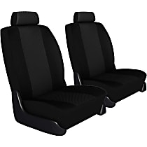 Seat Designs Cool Mesh Front Row Seat Cover - Black, Custom Fit