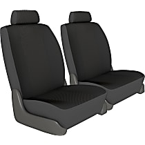Seat Designs Cool Mesh Front Row Seat Cover - Charcoal (Mfr. Color), Custom Fit