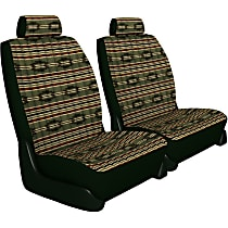 K020-5L-0SGN Seat Designs Southwest Sierra Front Row Seat Cover - Green (Mfr. Color), Custom Fit
