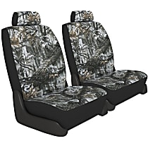 K020-A5-0ASW Seat Designs Camo Front Row Seat Cover - Snow (Mfr. Color), Custom Fit