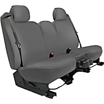 K020-A5-0GGY Seat Designs Genuine Neoprene Front Row Seat Cover - Gray, Custom Fit