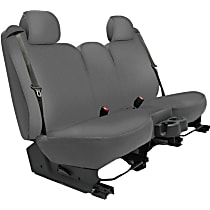 Seat Designs Genuine Neoprene Front Row Seat Cover - Gray, Custom Fit