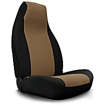 Seat Designs GrandTex Front Row Seat Cover - Oak Insert With Black Sides (Mfr. Color), Custom Fit