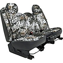 Seat Designs Camo Second Row Seat Cover - Snow (Mfr. Color), Custom Fit